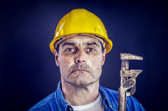 Craftsman with plier Stock Photography