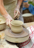 Craftsman - potter Royalty Free Stock Image