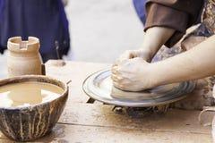 Craftsman potter Royalty Free Stock Photos