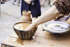Craftsman potter Stock Image