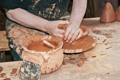 Craftsman potter Stock Photo