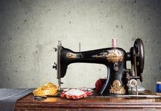 Craftsman. Seamstress closeup human clothing thailand street Royalty Free Stock Photo