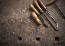 Craftsman tools Royalty Free Stock Photography