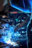 Craftsman weld steel Stock Images