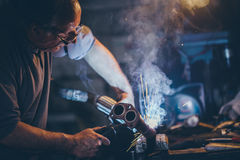 Craftsman weld steel. Stock Images