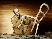 Craftsman at work Royalty Free Stock Photos