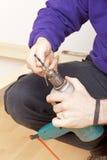 Craftsman at work Stock Photos