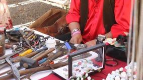 Craftsman stock video footage