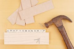 Craftsmanship Stock Photography
