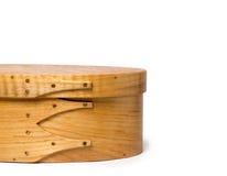 Craftsmanship - Details of Hand Made Shaker Box Stock Photo