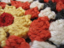 Craftsmanship of knitting Royalty Free Stock Photo