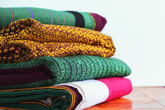 Craftsmanship Textiles silk Royalty Free Stock Image