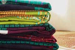 Craftsmanship tkaniny jedwabnicze obraz royalty free