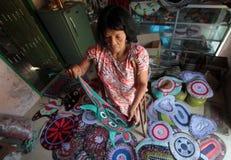 Craftsmen patchwork Stock Photography