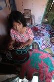 Craftsmen patchwork Stock Photo