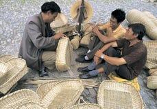 Craftsmen  in  southwest  china Royalty Free Stock Photos
