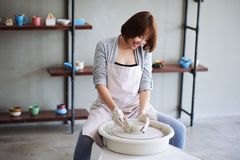 craftswoman Стоковая Фотография RF
