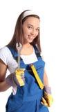 Craftswoman attraente immagine stock libera da diritti