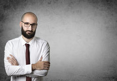 Crafty businessman Stock Photography