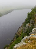 Cragg Lough on the Roman Wall. Northumberland, England. UK. In the early morning Stock Photos