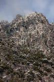 Craggy пик горы стоковое фото