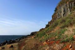 Craggy cliff Stock Photos