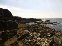 Craggy coast Royalty Free Stock Photo