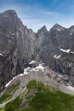 Craggy mountain Royalty Free Stock Photo