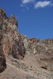 Craggy rhyolite ridge Stock Photos