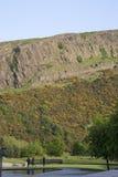 Crags di Salisbury, sosta di Holyrood, Edinburgh fotografia stock libera da diritti