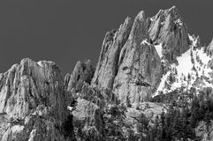 Crags do castelo, Dunsmuir Imagem de Stock