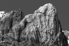 Crags do castelo, Dunsmuir Imagens de Stock