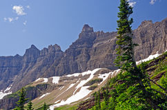 Crags of Iceberg Ridge Royalty Free Stock Photo
