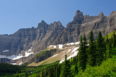 Crags of the Mountain West Stock Images