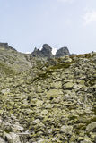 Crags (Wolowe Rogi (Volie rohy) in the main ridge Tatras Royalty Free Stock Images