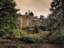 Cragside Northumberland arkivfoto