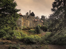 Cragside, Northumberland. The house at Cragside, in Northumberland,  one of the most famous country estates in the region Stock Photo