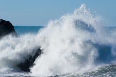 crahsing волны стоковая фотография rf