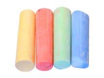 Craie colorée Photos libres de droits