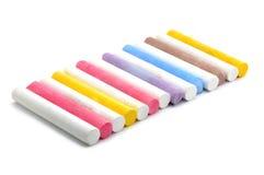 Craies colorées image stock