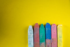 Craies colorées Photographie stock libre de droits