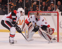 Craig Anderson & Milan Michalek Ottawa Senators Royalty Free Stock Photos