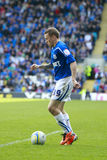 Craig Bellamy - Cardiff City FC Royalty Free Stock Photography