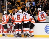 Craig Berube, Bus Philadelphia Flyers Royalty-vrije Stock Afbeeldingen