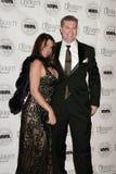 Craig Brettman e Nada Mirat ai diciassettesimi premi annuali multiculturali di diversità del Motion Picture Association, hotel di  Fotografia Stock