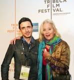 Craig Chester i Sally Kirkland zdjęcie stock