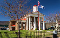 The Craig County Courthouse - USA Royalty Free Stock Images