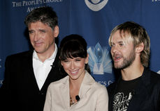 Craig Ferguson, Jennifer Love Hewitt και Dominic Monaghan Στοκ εικόνα με δικαίωμα ελεύθερης χρήσης