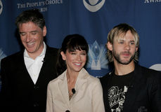 Craig Ferguson, Jennifer Love Hewitt and Dominic Monaghan Royalty Free Stock Photos