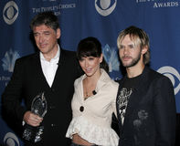 Craig Ferguson, Jennifer Love Hewitt et Dominic Monaghan Photos libres de droits
